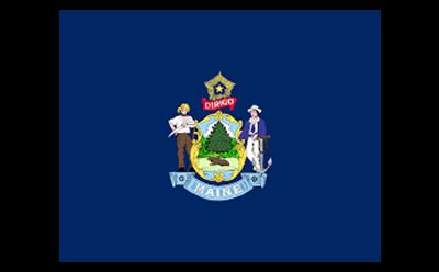 Maine Flag logo